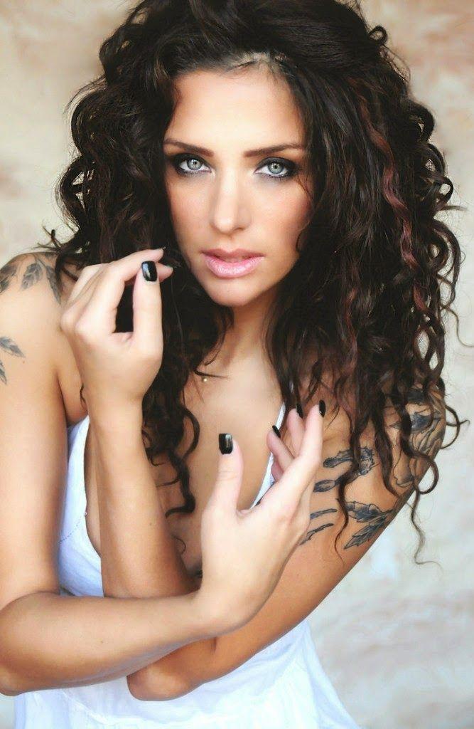 hope mitchell sexy tattooed girls female models with tattoos rh pinterest de