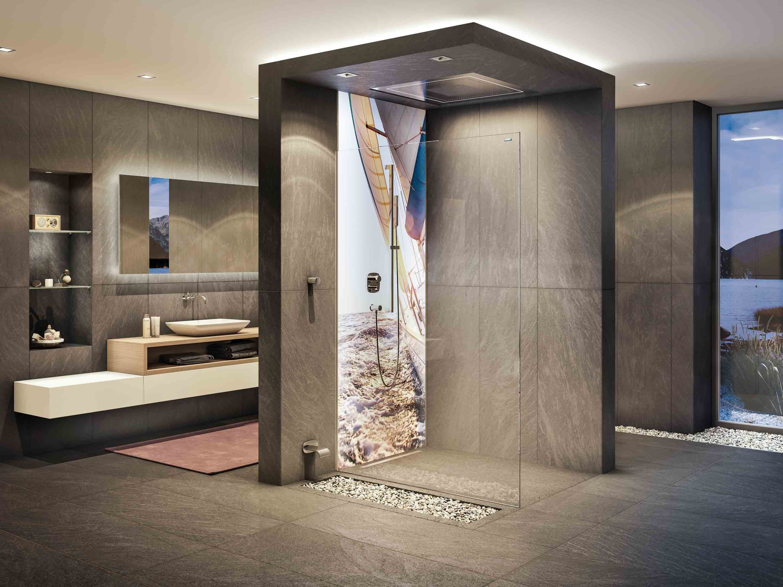 Mit Den Individuell Gestaltbaren Wandverkleidungen Fürs Badezimmer. Eigene  Urlaubsbilder Und Andere