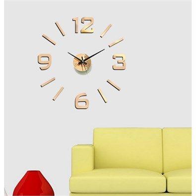04cbc6084 StarDeco Nástěnné hodiny bronzová, pr. 60 cm | Chata | Pinterest