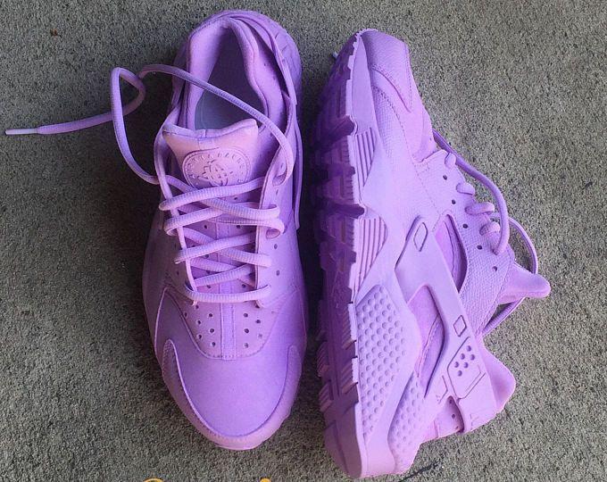0923a8ed9f96c Lavender Nike Huarache Custom