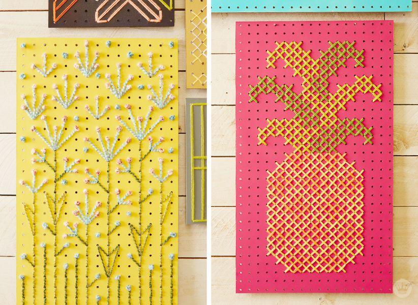 Cross-Stitch Pegboard Workshop - Think.Make.Share.