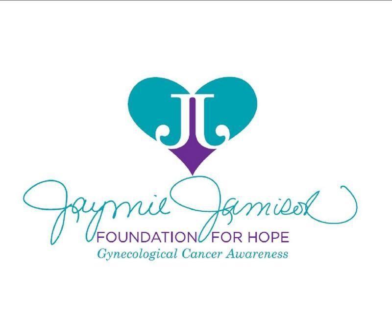Jaymie Jamison Foundation for Hope's New logo! Www.jaymiejamisonfoundation.org