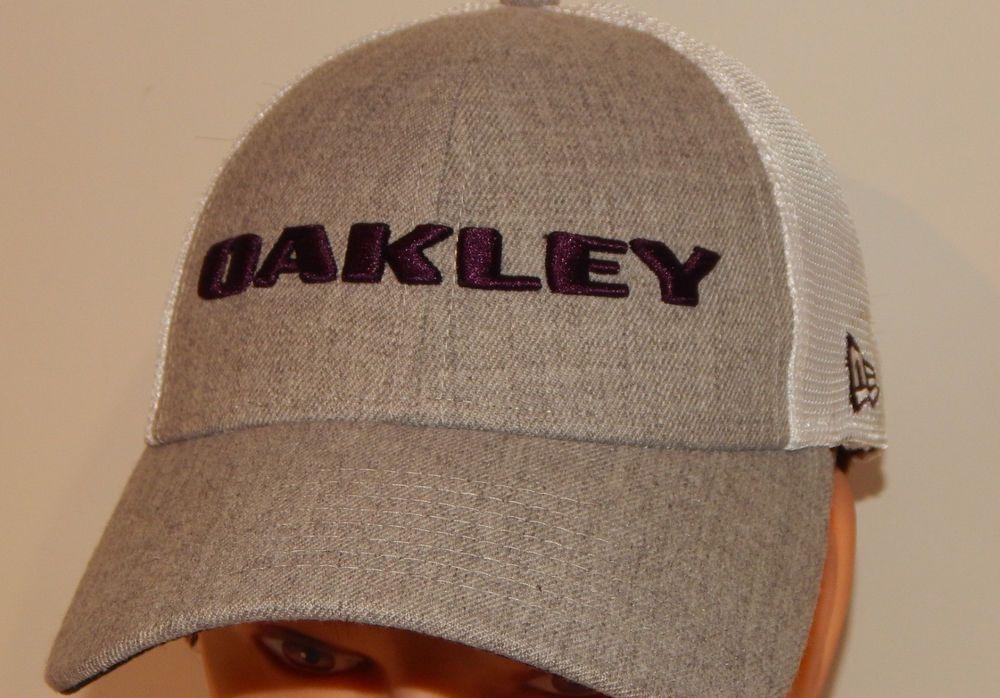b43effe4722 Oakley New Era 9Forty Heather Gray Purple Mesh Snapback Golf Hat Cap   fashion  clothing  shoes  accessories  mensaccessories  hats (ebay link)