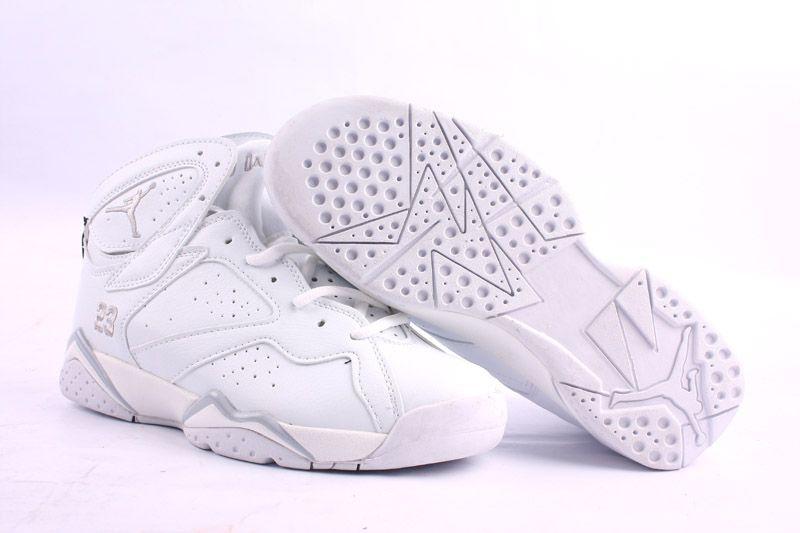 Air Jordan 7 All White | Jordan shoes