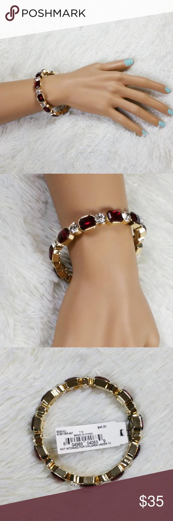 Anne klein bright nights ii red gold bracelet boutique red gold