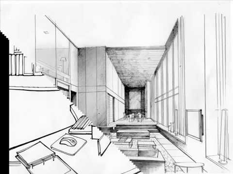 Office Interior Design Sketches Initial Interior Designs On The