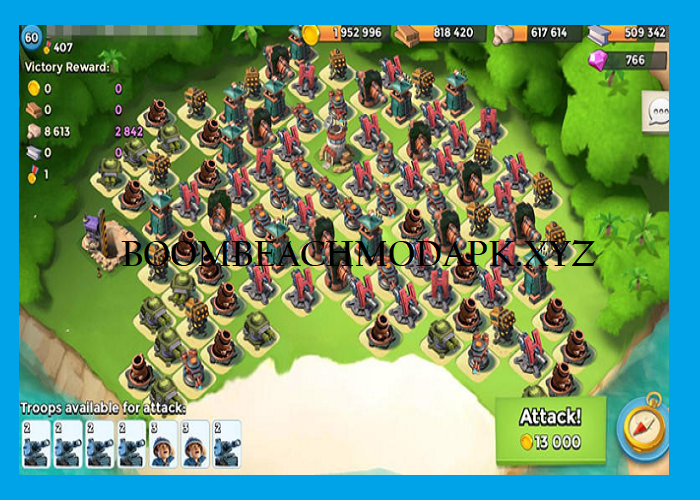 Get this Boom Beach Mod APK latest version for android on your