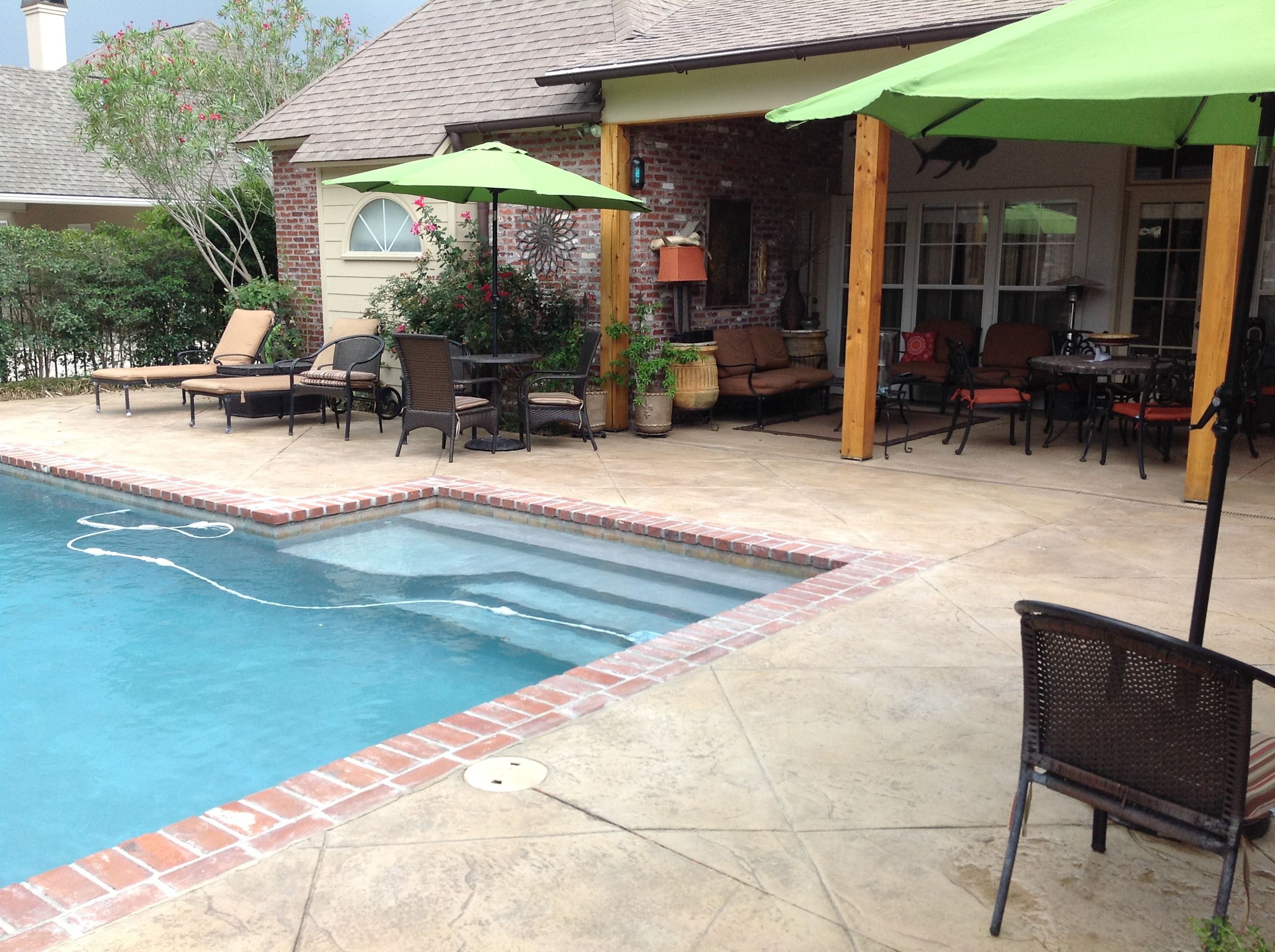 Pin on stamped concrete for Pool design pattern