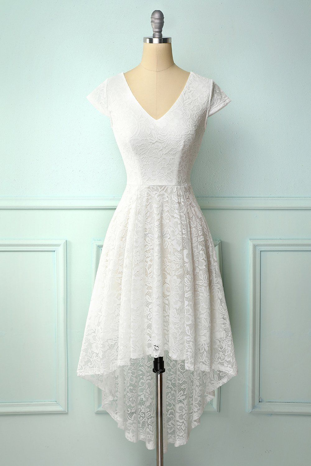 White High Low Lace Dress High Low Lace Dress Lace White Dress Lace Burgundy Dress [ 1500 x 1000 Pixel ]