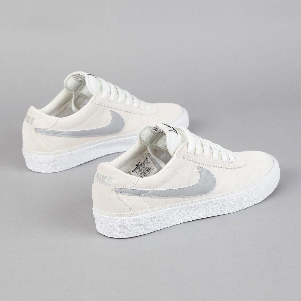 728f3265e39c Nike SB Bruin Swan   Matte Silver - White