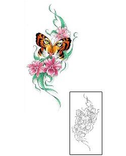 Tigerfly Tattoo Tiger Butterfly Tattoo Tiger Tattoo Tiger Tattoo Design