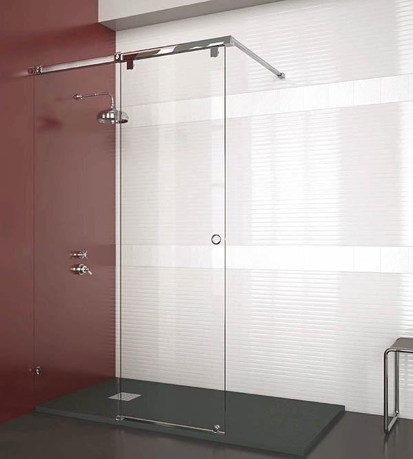 Comprar sp 500 mampara de ducha en modern interiors and glass - Ducha sin mampara ...