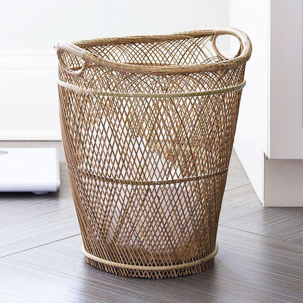Natural Woven Basket//