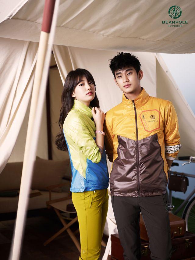 Bean Pole Outdoor Summer 2013 Campaign With Kim Soo Hyun Suzy Kim Soo Hyun Korean Celebrities Hyun Young