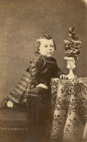 Frank Lloyd Wright As A Young Child 1869 Frank Lloyd