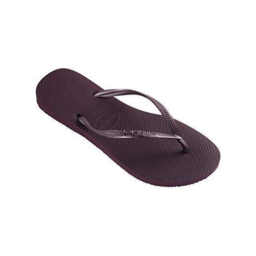 Havaianas Damen Slim Flip Flops Zehentrenner Sandalen Sommer Freizeit Schuhe Schwarz 6 (39/40) A4Q4g6Yh