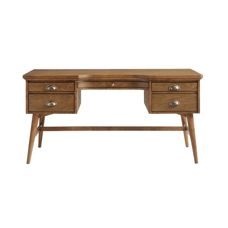 Park Solid Wood Writing Desk With Images Solid Wood Writing