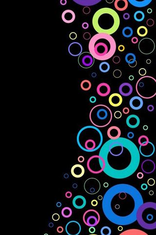 Colorful Ring Phone Wallpaper Mobile Wallpapersscreensaversiphone