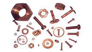 Copper Cold Forged Machined Fasteners Copper Parts Beryllium Copper Copper Forging