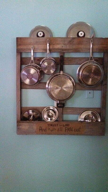 Pin By Teresa Tate On Diy Kitchen Organization Diy Diy Pots