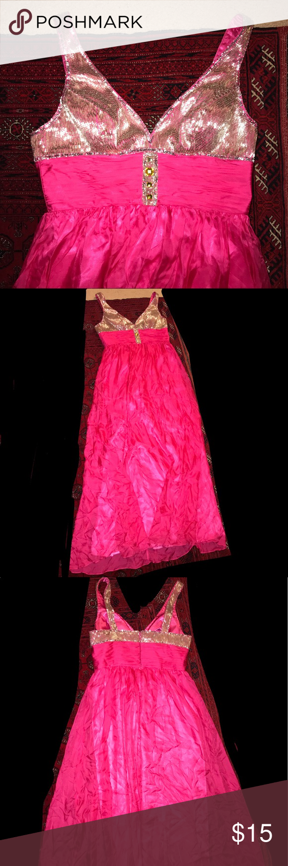 Hot pink sequin dress pink sequin dress pink sequin and hot pink