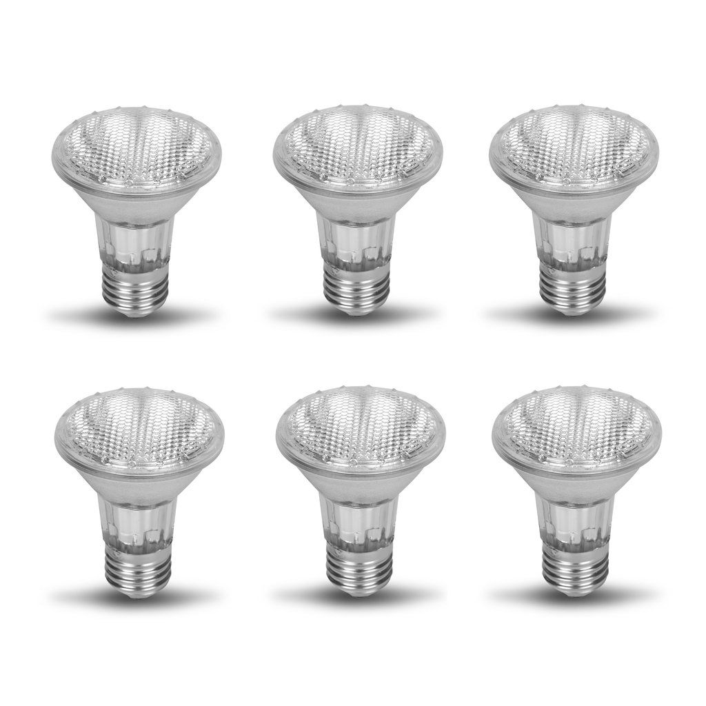 Par20 Halogen Spot Light Bulb 120v 240v 35 Watt Flood Lamp Value 6 Pack 35w Bulb Light Bulb Recessed Lighting Fixtures