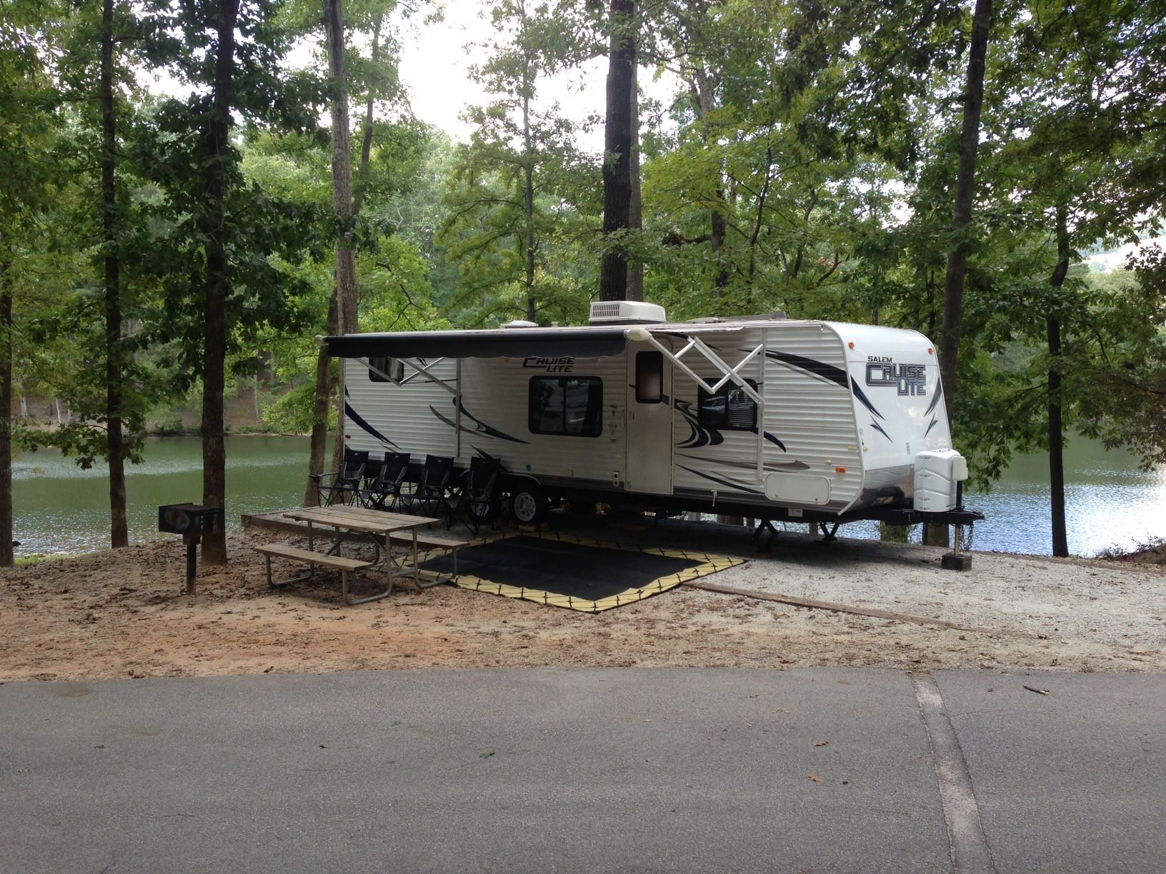 Cruise Lite 28bh On Campsite 333 On Trail M At Stone Mountain Park