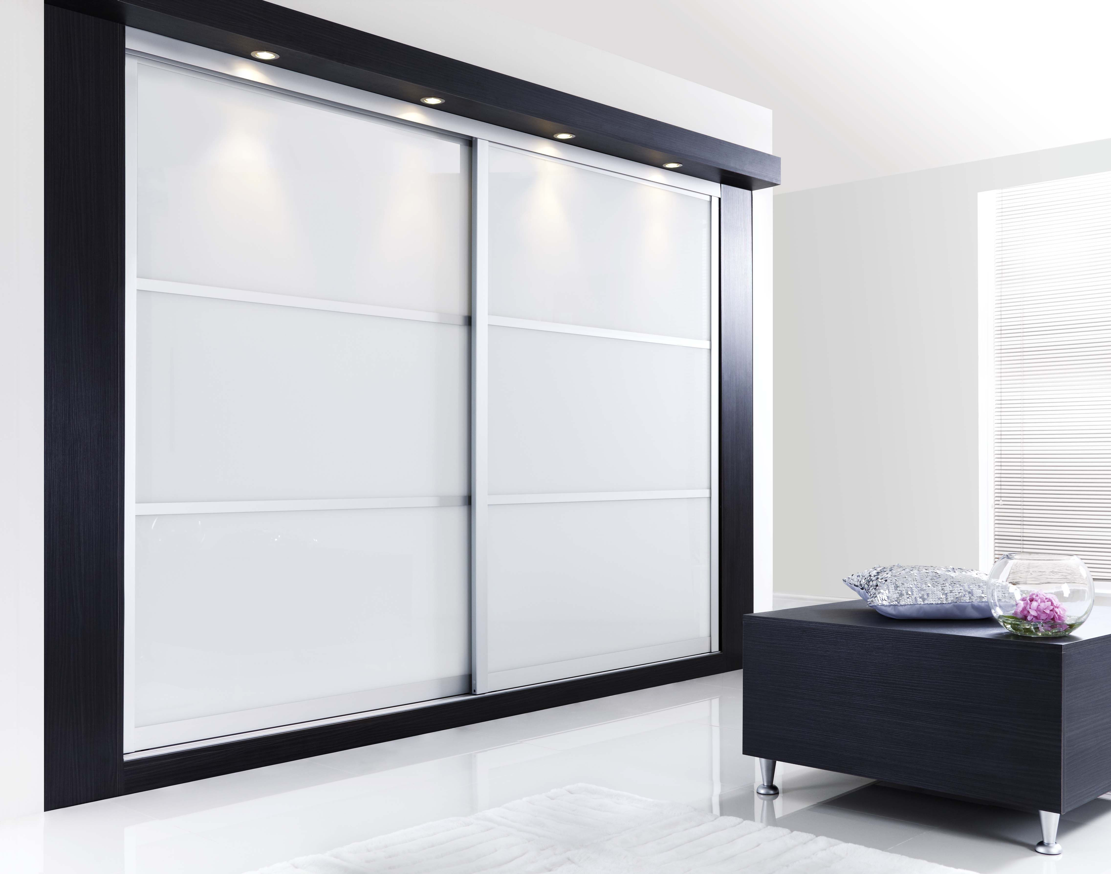 Contemporary Sliding Door Wardrobe [ Barndoorhardware.com ] #modern # Hardware #specialty