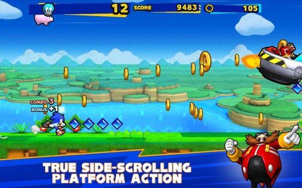 Sonic Runners Apk v2 0 3 (Unlimited Money) Sonic Runners Apk
