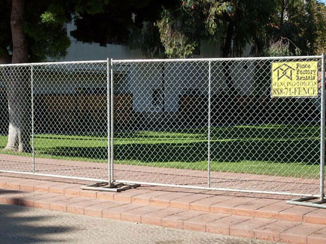 Movable Fence Panels Can Be Used In Those Places Where