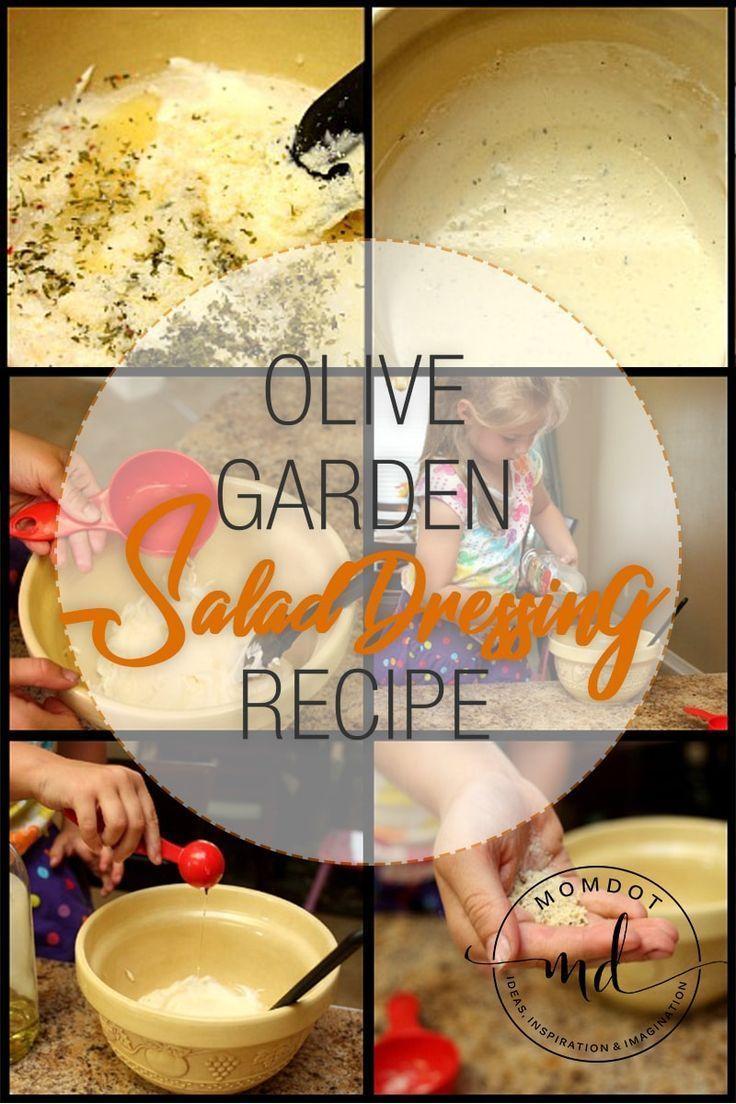 Olive Garden Italian Dressing Copy Cat Recipe Olive