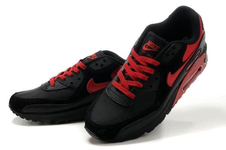 Air Max Red and Black | Nike Air Max 90 Men Black Red