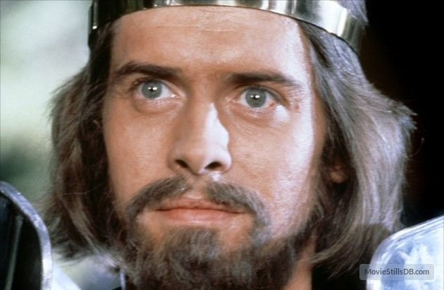 Excalibur - Publicity still of Nigel Terry