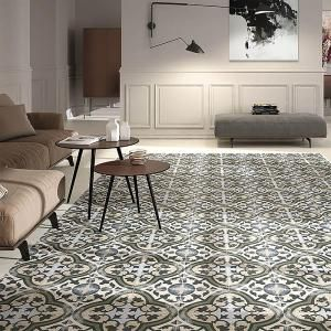 Merola Tile Evoque Carthusian 9 3/4 In. X 9 3/4 In. Porcelain Floor And  Wall Tile (10.76 Sq. Ft. / Case) FCD10EVC At The Home Depot   Mobile