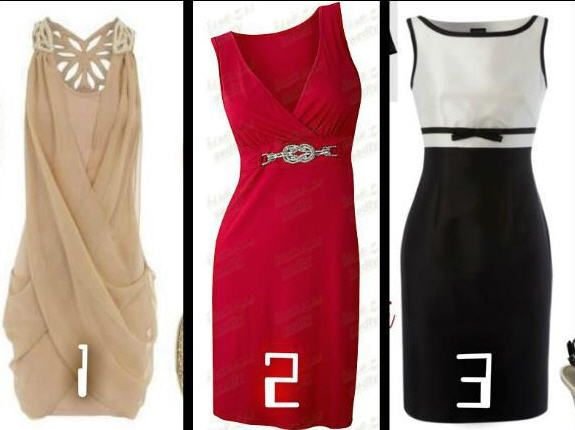 dresses for an evening out or event