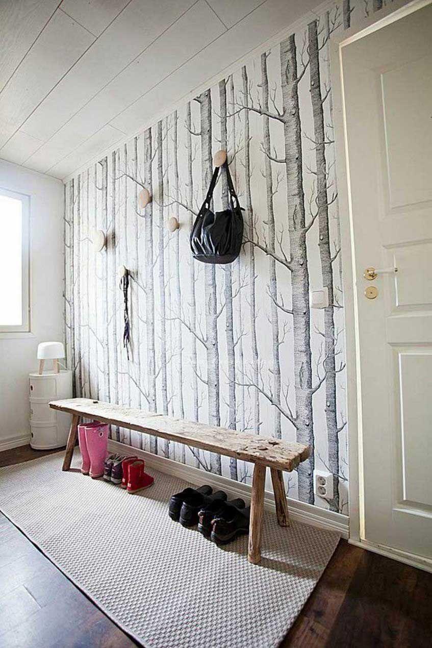 Uncategorized Kleines Wohnzimmer Tapete Birken Mit Kleines Birke Tapete Schwarz Wei Awesome Poster Tap Ausgefallene Tapeten Holz Hintergrundbild Weiße Tapete