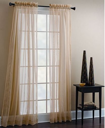 Sheer Window Panels Are Simple and Easy Solutions ...