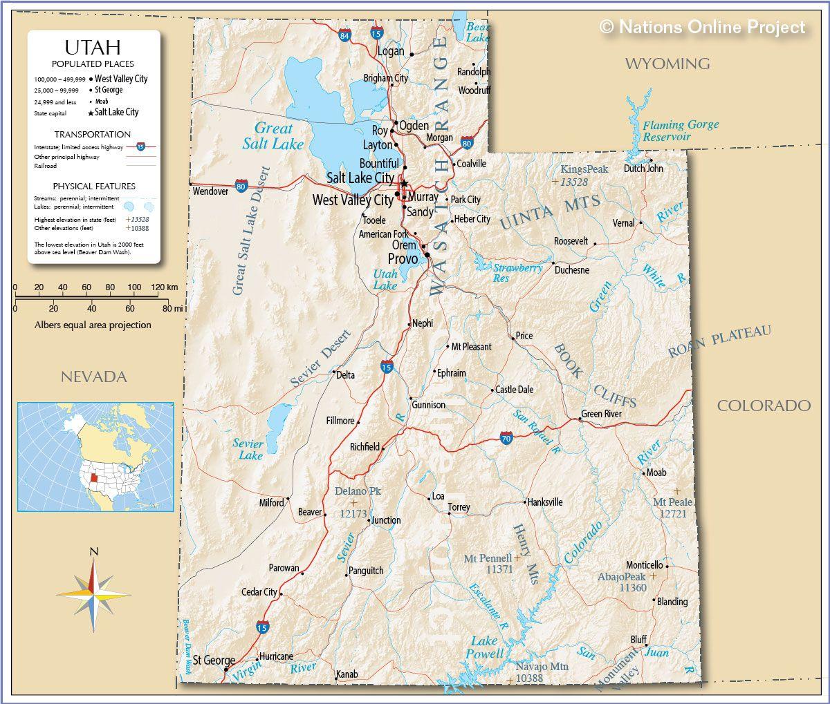 How To Start Homeschooling In Utah Utah Map Utah Utah National Parks