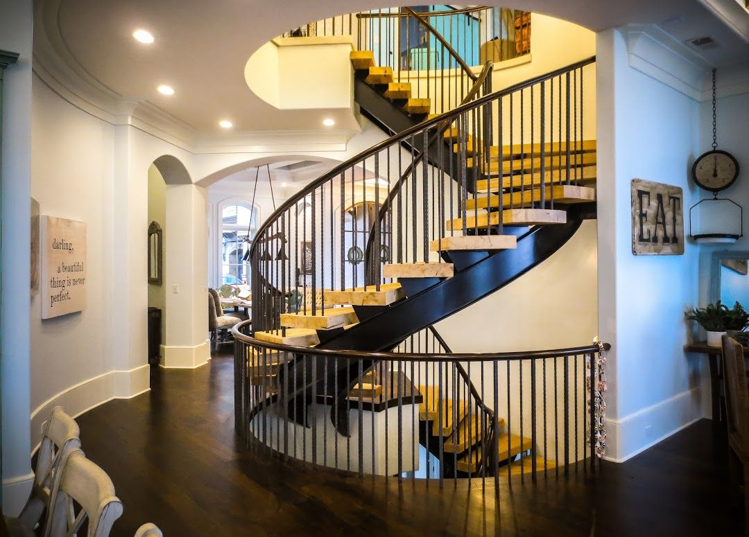 Best Spiral Stairs With Images Stairs Metal Balusters 640 x 480