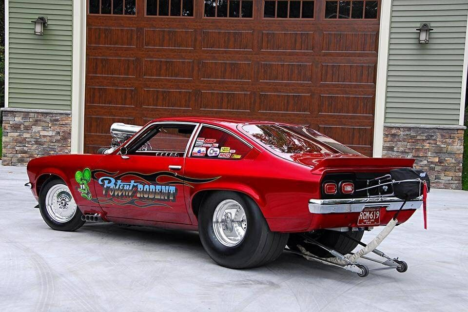 c1180389948 Cherry Red blown Vega Chevrolet Vega, Chevy Muscle Cars, Hot Bikes, Drag  Cars