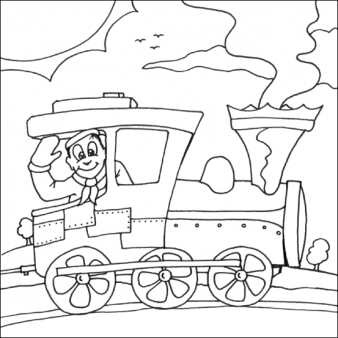 Print Out Coloring Pages Steam Train For Kids Printable Coloring Pages For Kids Coloring Pages For Boys Train Coloring Pages Kids Printable Coloring Pages