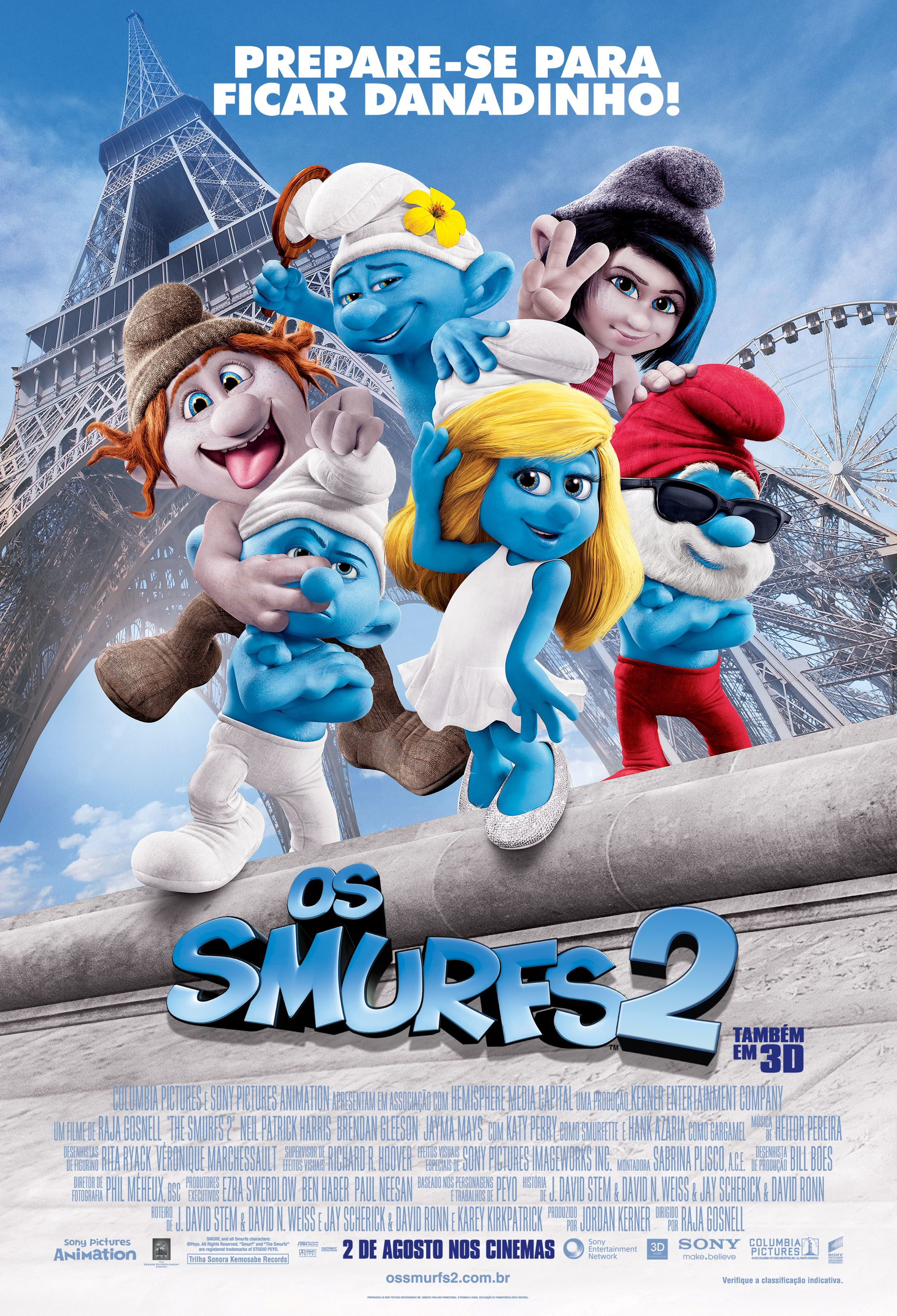 Os Smurfs 2 Estreia Dia 02 De Agosto Trailer Http Youtu Be 2mpikrwla5u The Smurfs 2 Kid Movies Smurfs