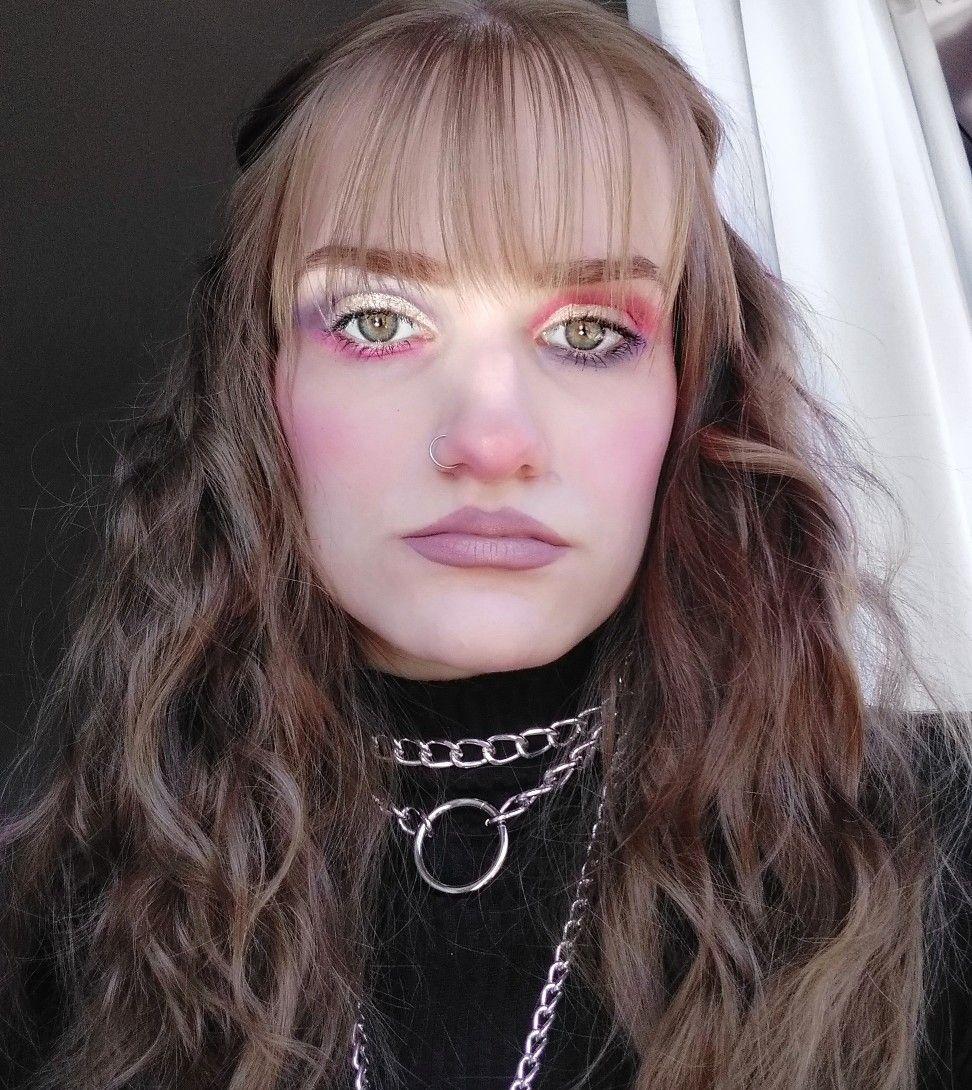 Egirl Colorful Makeup Ispiration In 2020 Cute Makeup Pretty Makeup Colorful Makeup