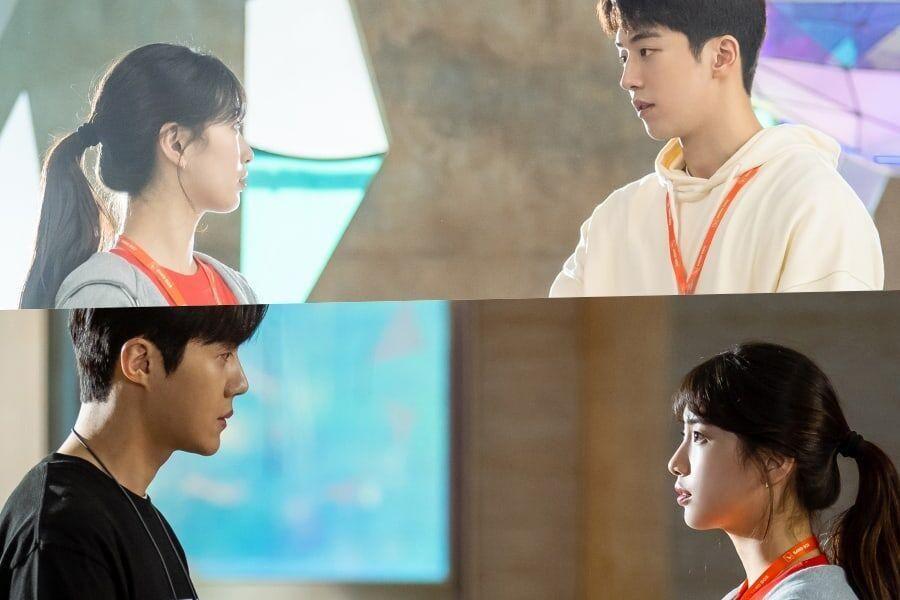 """Upcoming Drama """"Start-Up"""" Gives Peek At Love Triangle Between Suzy, Nam Joo Hyuk, And Kim Seon Ho"""