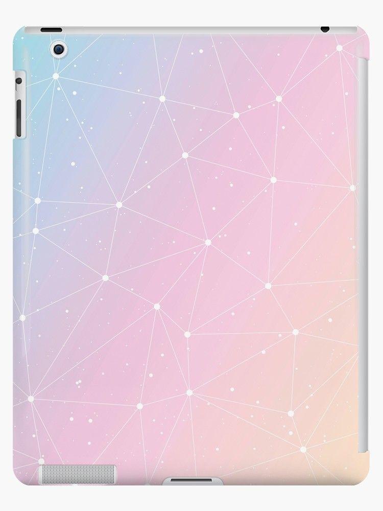 f527888fd9ea9 Pastel Rainbow Watercolor Stars Astronomy Artwork' iPad Case/Skin by ...