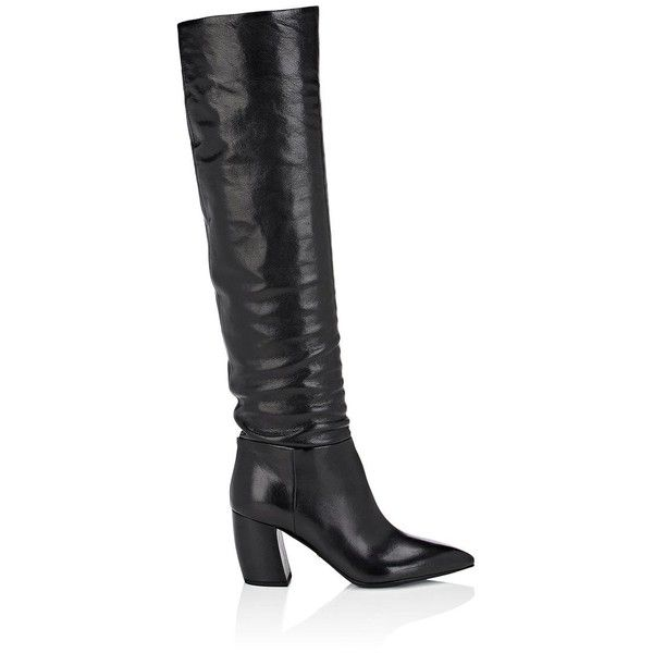 0ccfa6b3515 Prada Women s Leather Over-The-Knee Boots ( 1