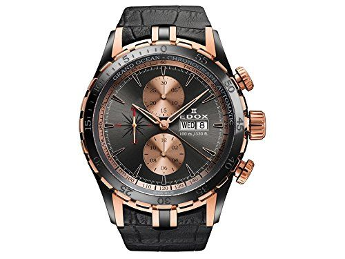 Edox Grand Ocean reloj hombre cronógrafo automática 01121 357RN GIR