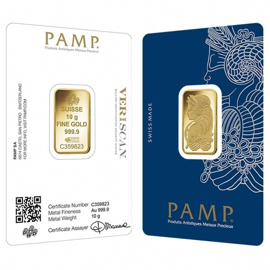 Pamp Suisse Gold Bar In Assay Card Case Picture Ebay Affiliate Link Goldinvesting Gold Bar Fortuna Buy Gold And Silver