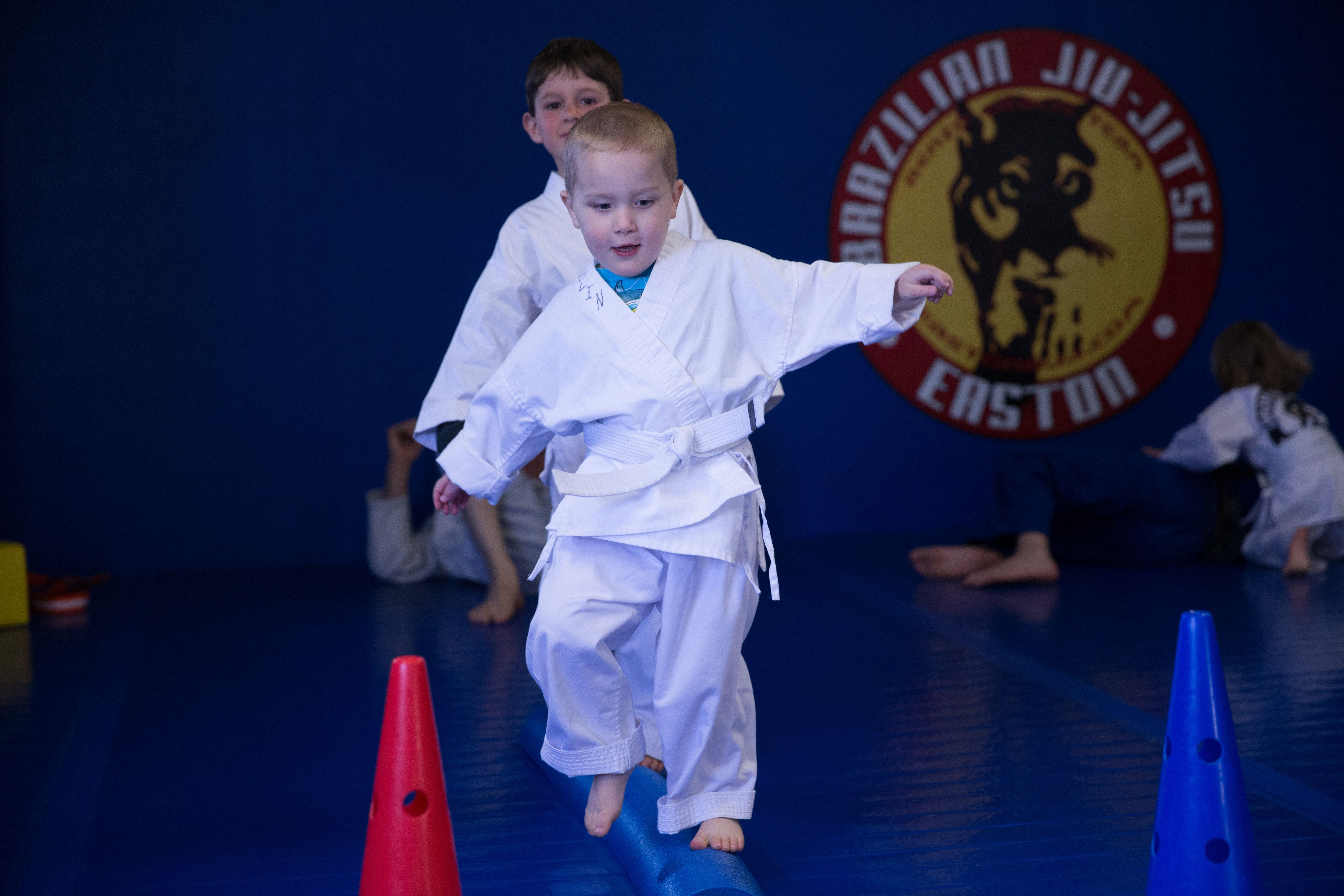 Much more fun version of walk the plank martial arts