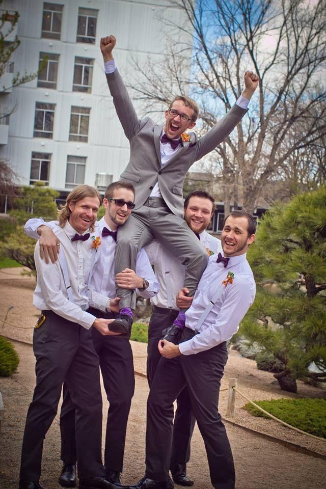 groomsmen pose kandid kate photography colorado springs